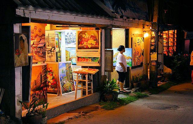 Lamai Kunst-Geschäfte