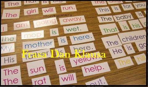 Pengertian Serta Contoh Frasa Dan Klausa Belajar Aktif