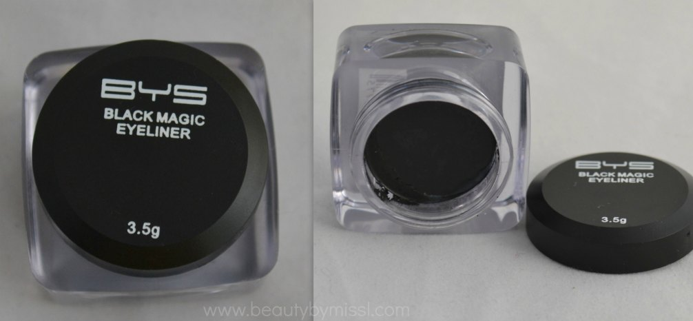 BYS Black Magic Eyeliner review