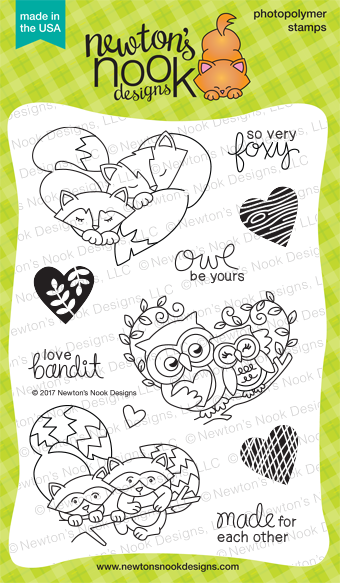 Newton's Nook January Release Woodland Duos Stamp Set