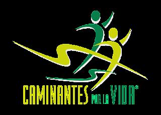 Caminantes por la vida Logo Vector