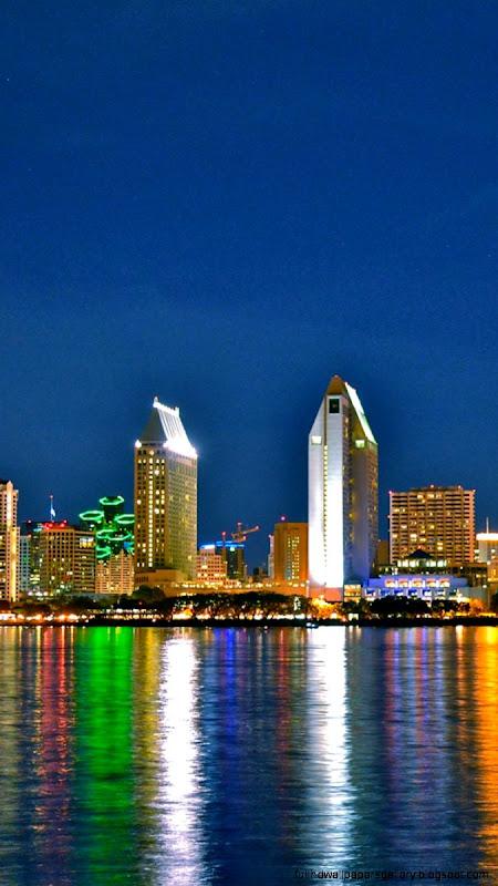 San Diego City Skyline Wallpaper Iphone Full Hd Wallpapers