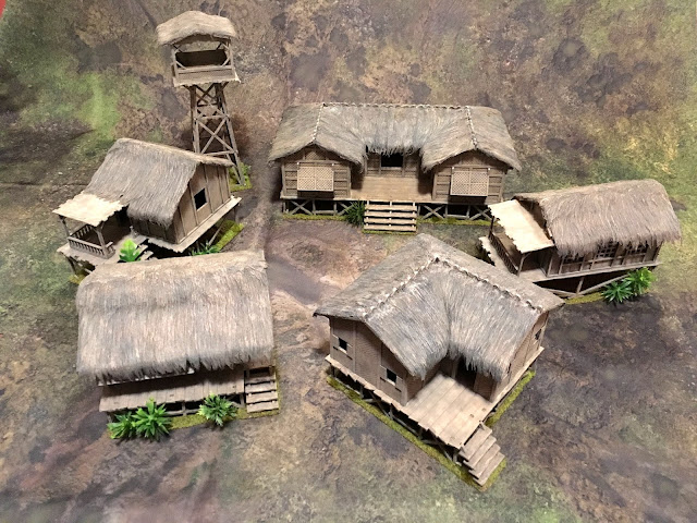 Sarissa and Warbases Huts Together