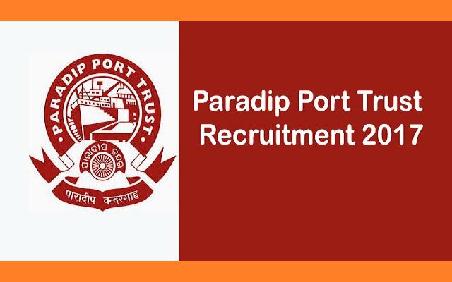Paradip Port Trust Recruitment 2017 Driver Posts