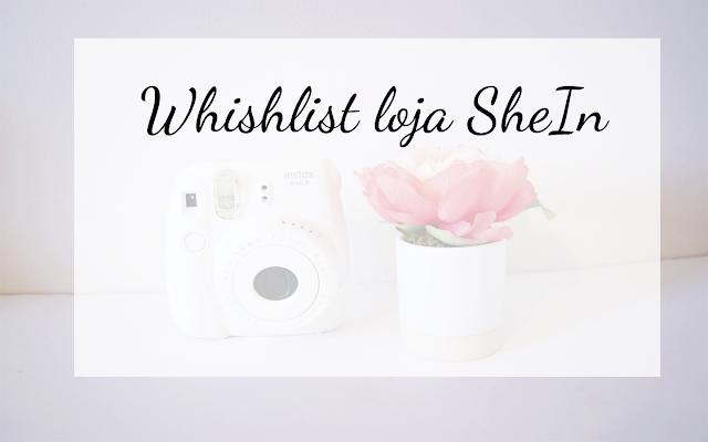 Wishlist loja Shein