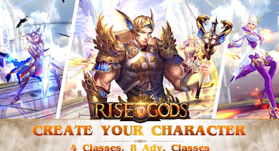 Download game Rise of Gods A saga of power and glory APK