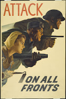 A U.S. poster  produced during  World War II