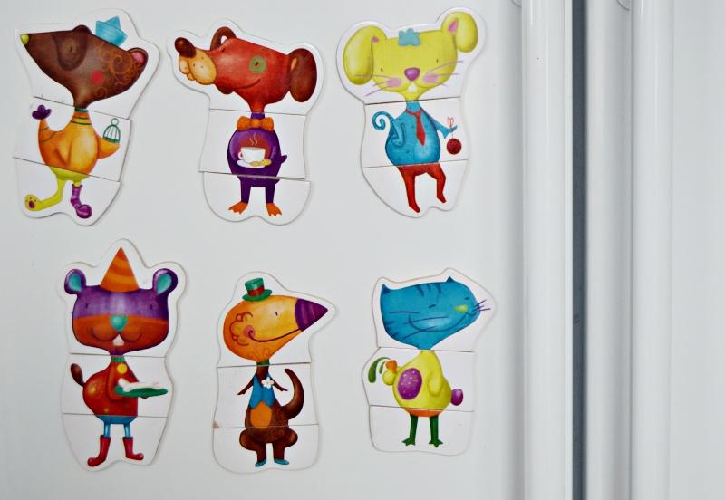 Combinaciones animales magnéticos