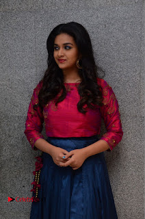 Actress Keerthi Suresh Stills at Remo Success Meet  0039.JPG