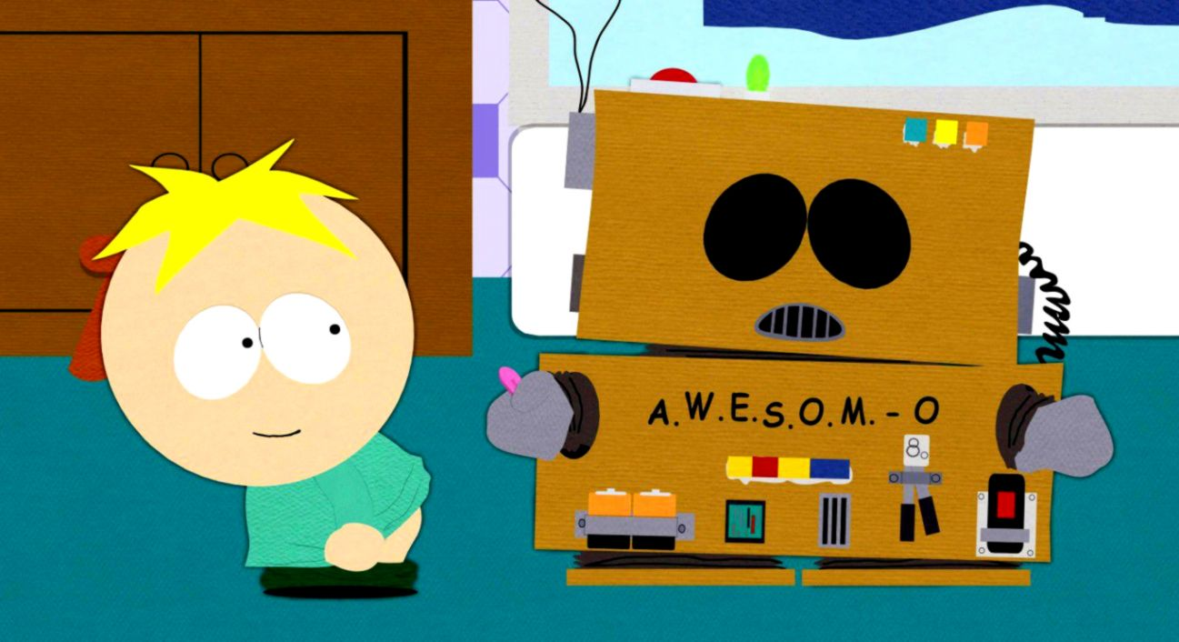 Cartoon South Park Butters Stotch Eric Cartman Hd Wallpaper