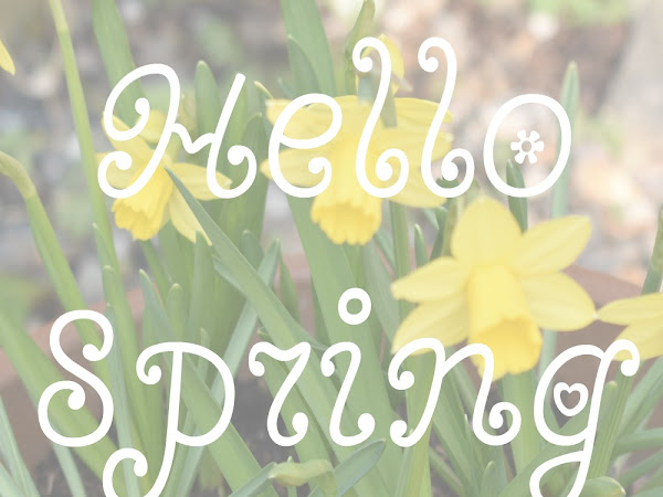 Hello Spring ❀ {Spring To Do List}