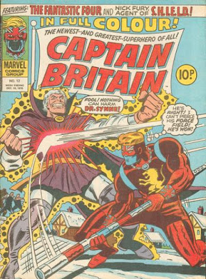 Marvel UK, Captain Britain #12 Dr Synne