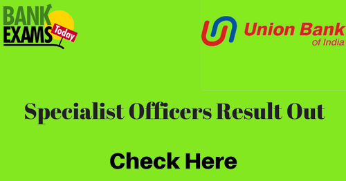 Union bank of india forex officer result