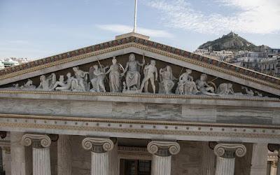 Εκεί ψηλά... με τον Δία και την Αθηνά