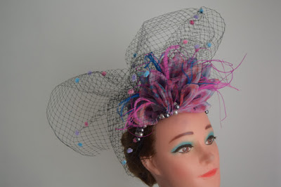 Mother of the bride/groom or guest fascinator