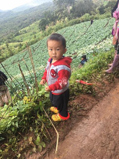 Тайский ребенок Chiang Mai