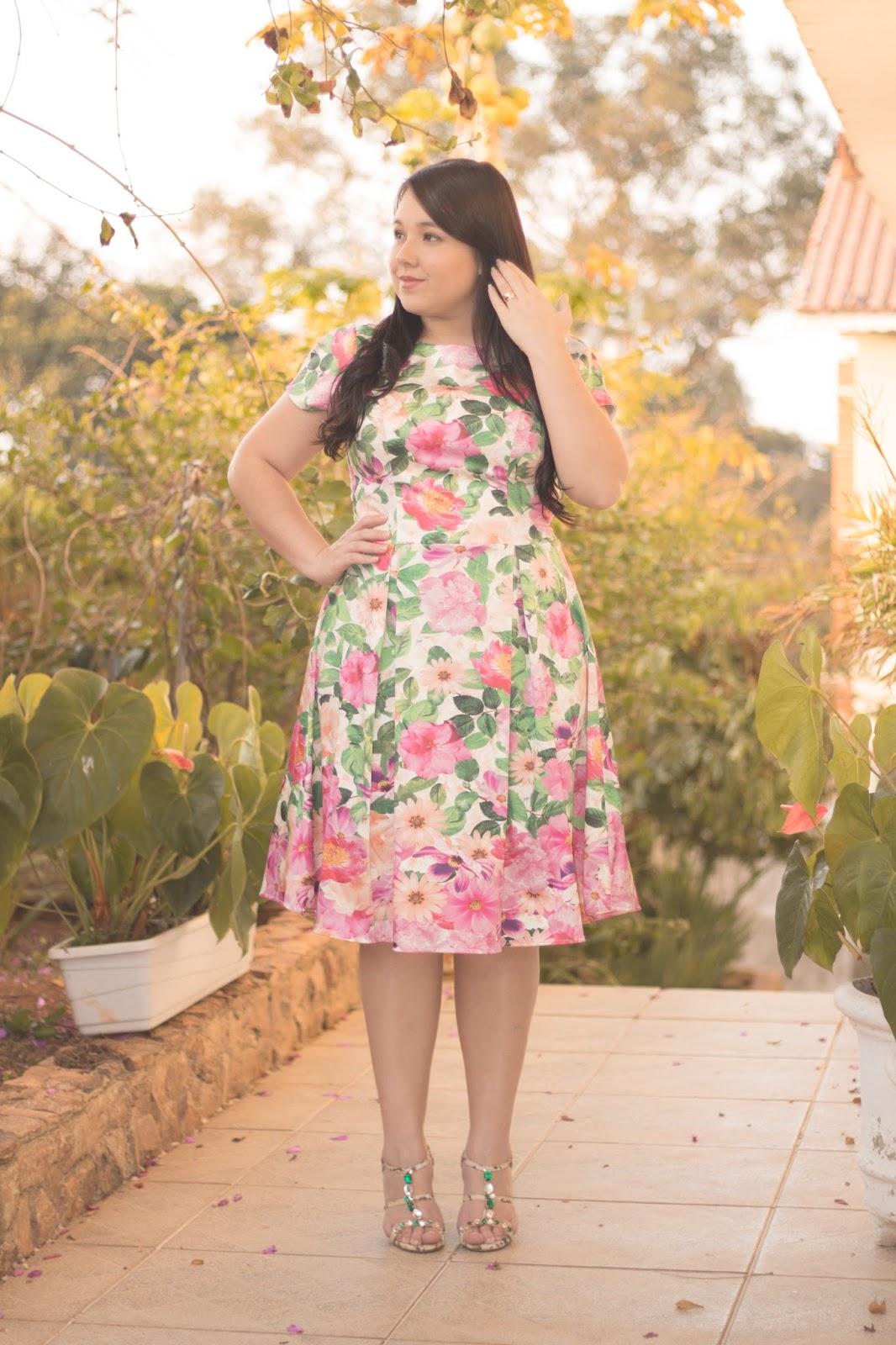 Vestido Lady like - Jany Pim ♥