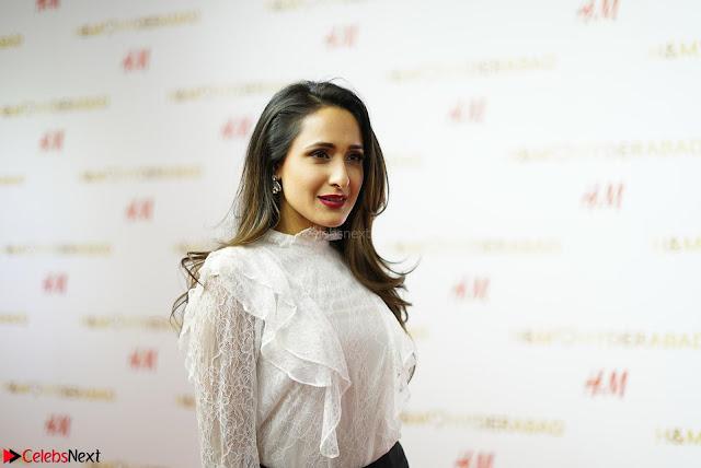 Pragya Jaiswal in lovely Black Mini Skirt and White Transparent Shirt ~  Exclusive 002.JPG