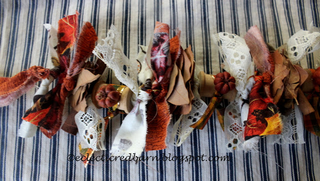 Eclectic Red Barn: Items added to fall Garland