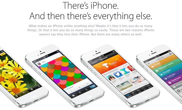 Advertising Analysis : iPhone print advertisement 1