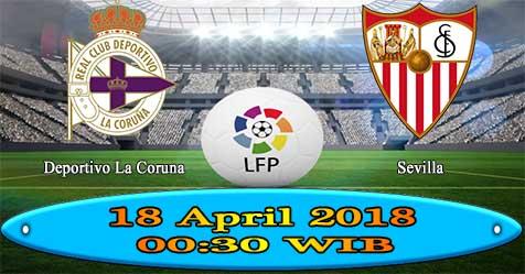 Prediksi Bola855 Deportivo La Coruna vs Sevilla 18 April 2018