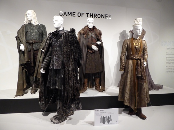 Game of Thrones costume exhibit FIDM Museum