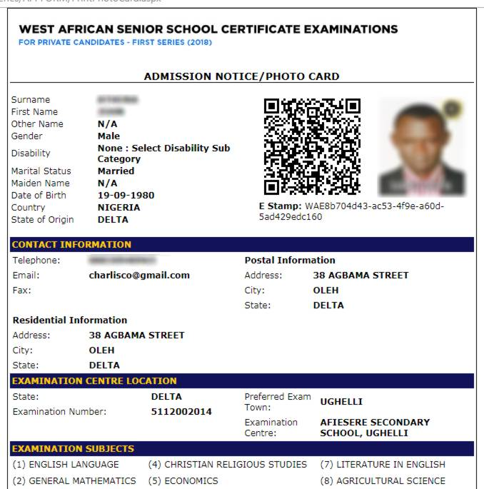 When is gce waec 2013 coming out — photo 1