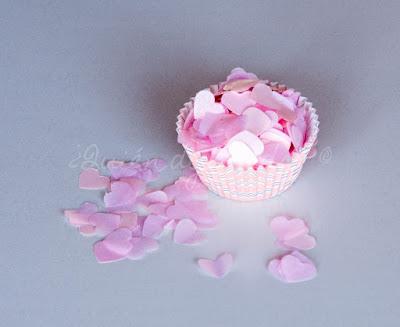Confetti en molde de muffin