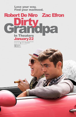 Dirty Grandpa UNRATED 2016 DVD R1 NTSC Latino