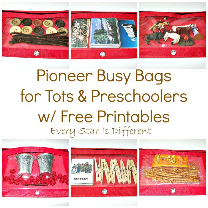 Pioneer Busy Bags