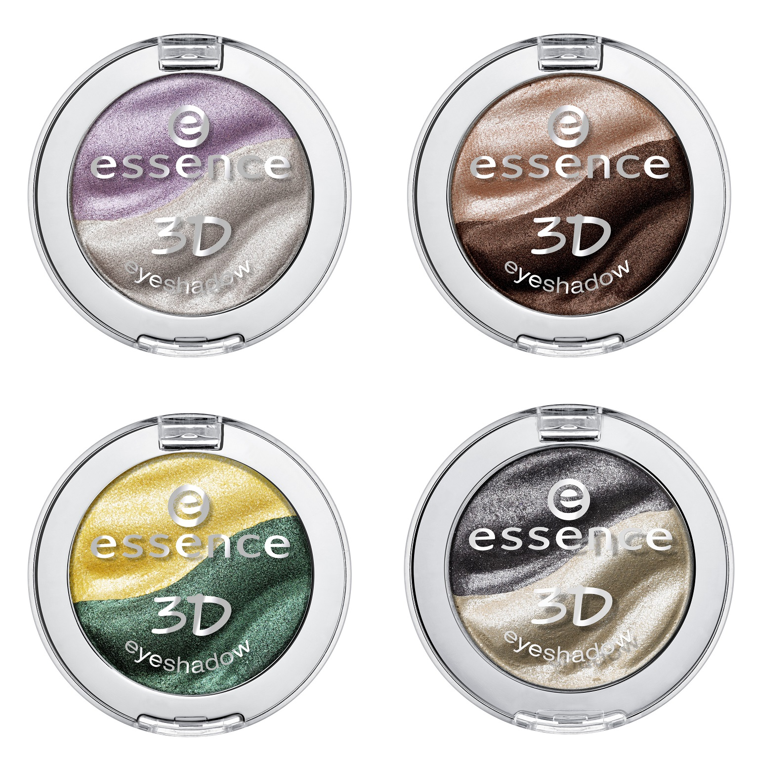 essence new in town – 3D eyeshadow