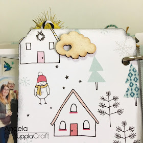 My December Daily 2017 by Angela Tombari for Yuppla Craft DT