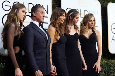 Sylvester Stallone Daughters Sophia, Scarlet and Sistine