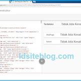 Menghapus Tanggal Postingan dan author Valid HTML Data Terstruktur