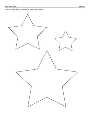 Effortless Stars Template Printable Mason Website