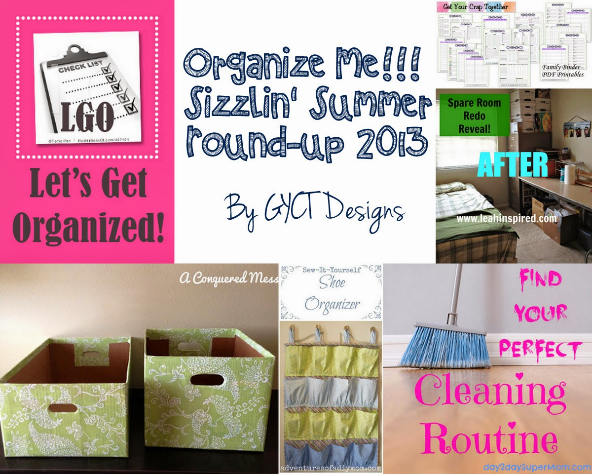 Organize Me!!  Sizzlin' Summer Series 2014 at GYCT