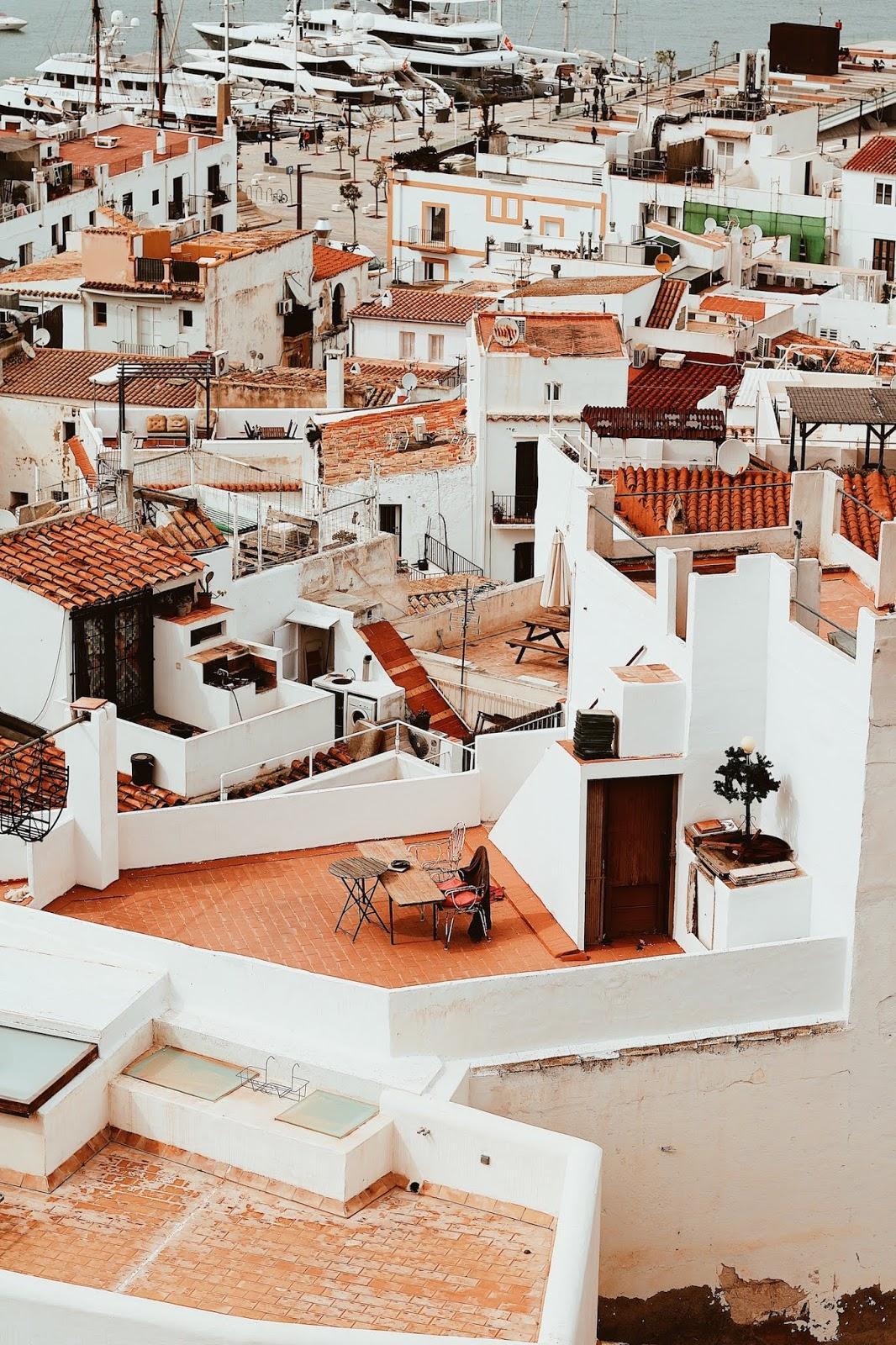 Ibiza architektura na wyspie