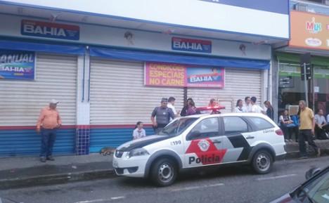 Casas Bahia de São João da Boa Vista (SP) foi furtada na madrugada deste domingo