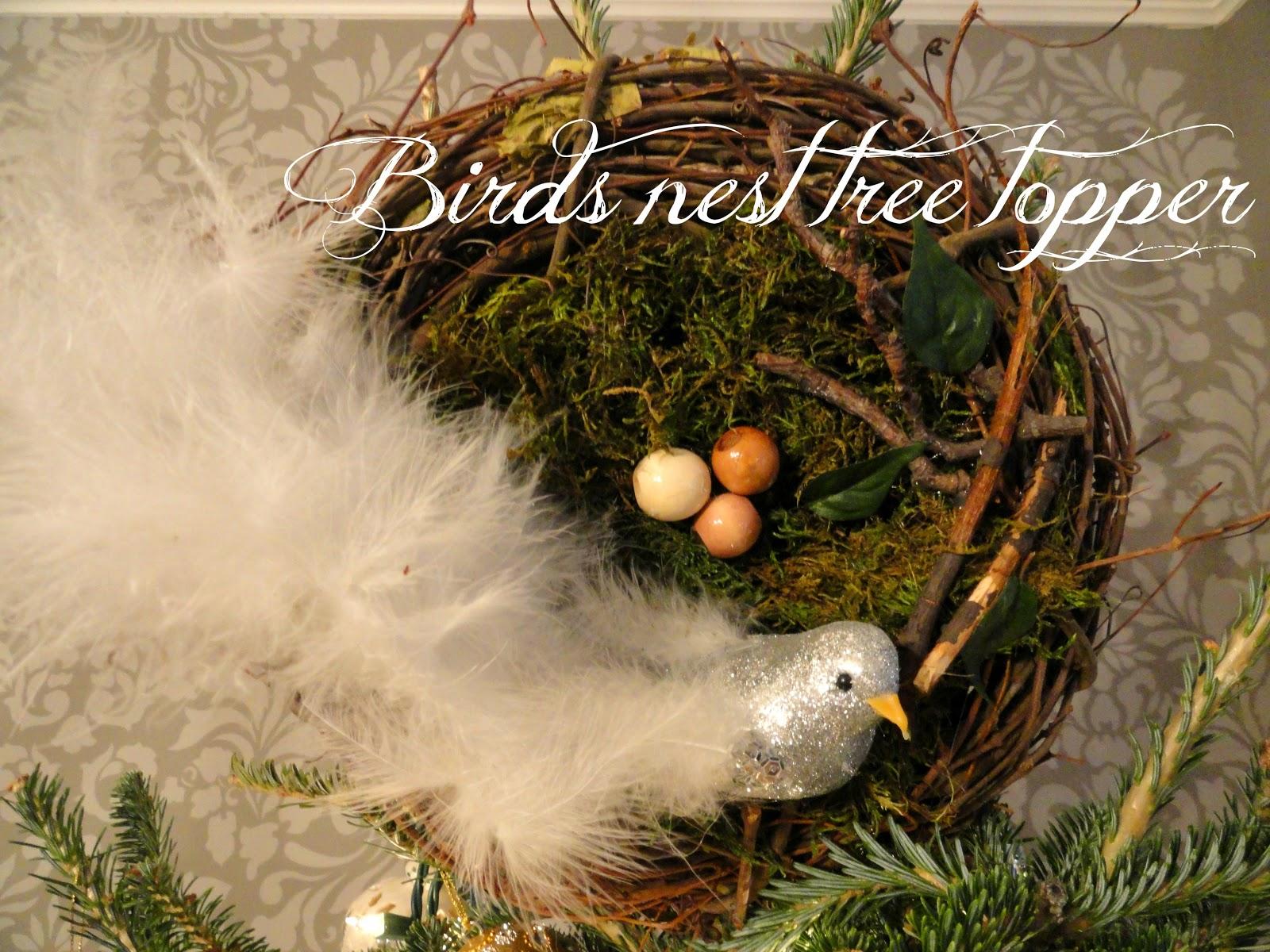 Rachel's Nest: Bird's Nest Tree Topper