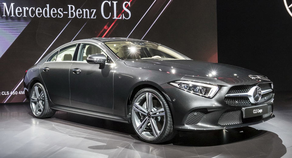 2019 Mercedes-Benz CLS Four-Door Coupe Is Back With Straight-6 ...