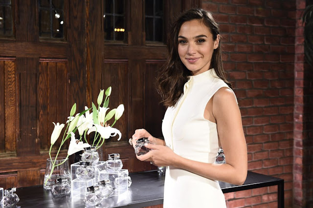 HQ Photos of Gal Gadot in White dress At Gucci Bamboo Fragrance Launch In New York