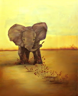 elephant-abstract-painting