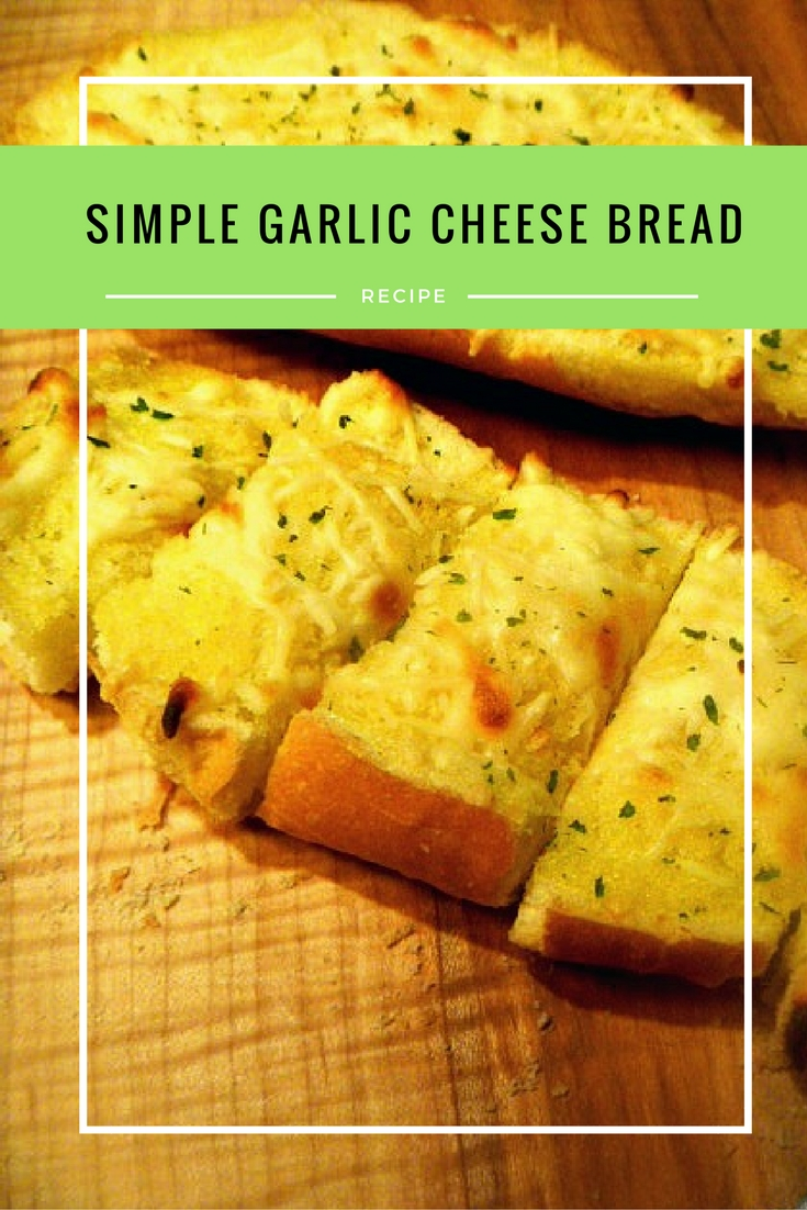Slice of Southern: Simple Garlic Cheese Bread