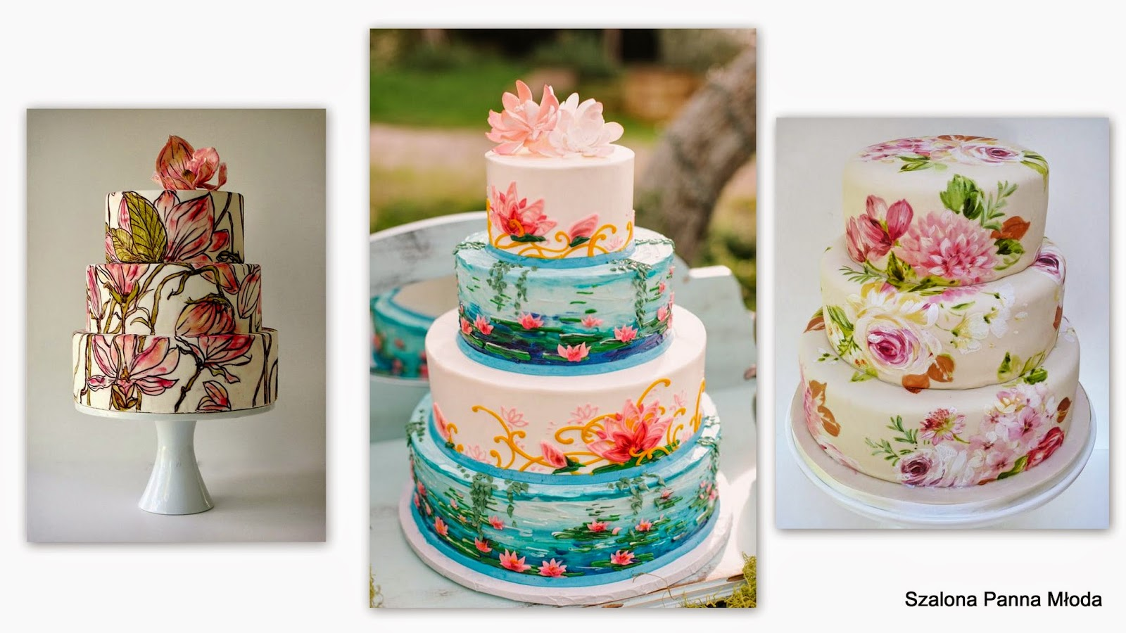 Nowe trendy w tortach weselnych