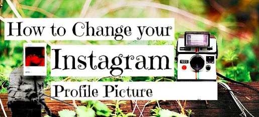 how to change profile picture on instagram online