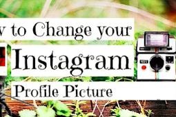 Change Instagram Profile Photo