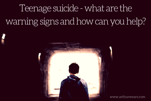 teenage suicide - what are the warning signs and how can you help