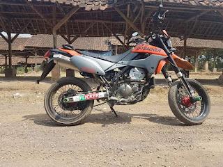 Dijual D-tracker 250cc 2010 pajak on