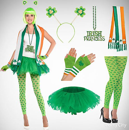 St. Patricku2019s Day Party Costumes Outfit Ideas | Fancy Dress Costumes on Saint Patrick Day | St ...