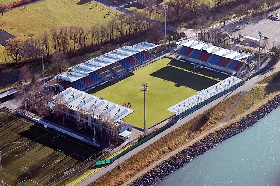 rheinpark stadion liechtenstein italia vaduz mappa